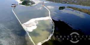 IAI Installs Geotextile Tubes to Restore Emergent Marsh Habitat in Florida