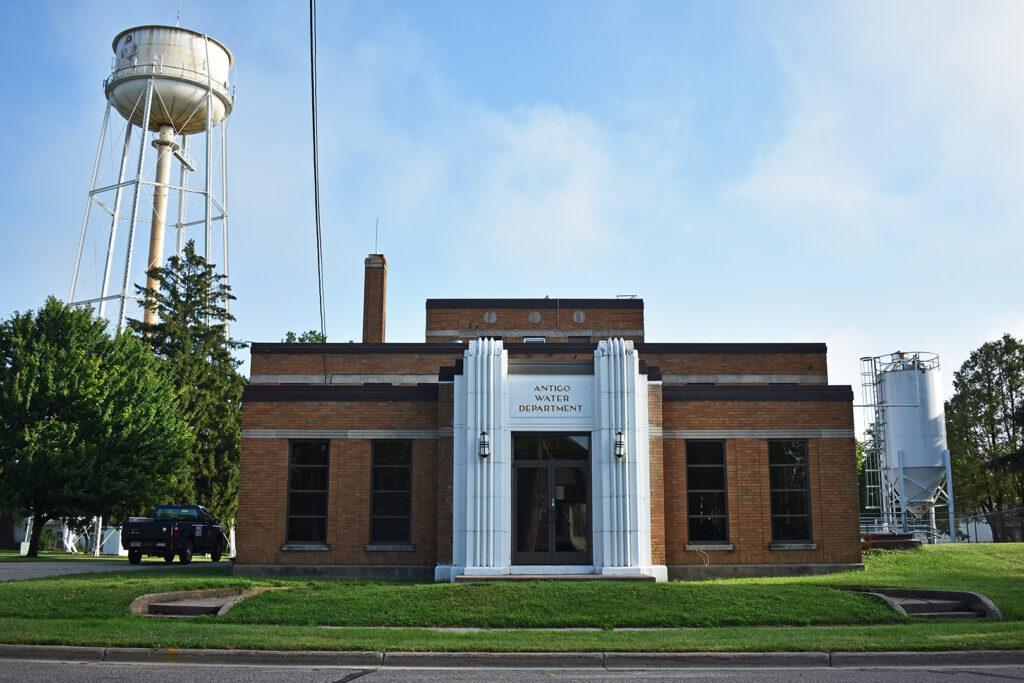 Antigo Water Treatment Plant, Antigo, Wisconsin