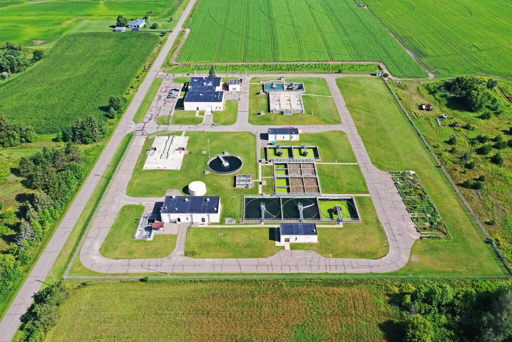 Springbrook Wastewater Treatment Plant, Antigo, Wisconsin