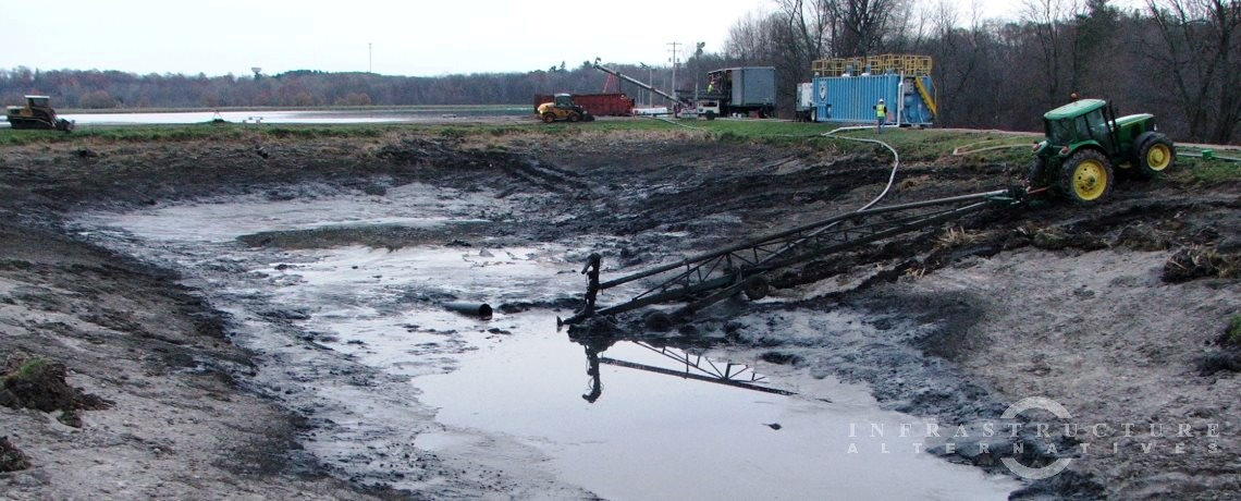 Belding Wastewater Lagoon Cleaning Project