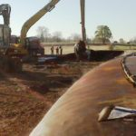 Kalamazoo River Oil Spill Dredging Project