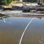 West Branch Grand Calumet River Remedial Action, sediment dewatering pad