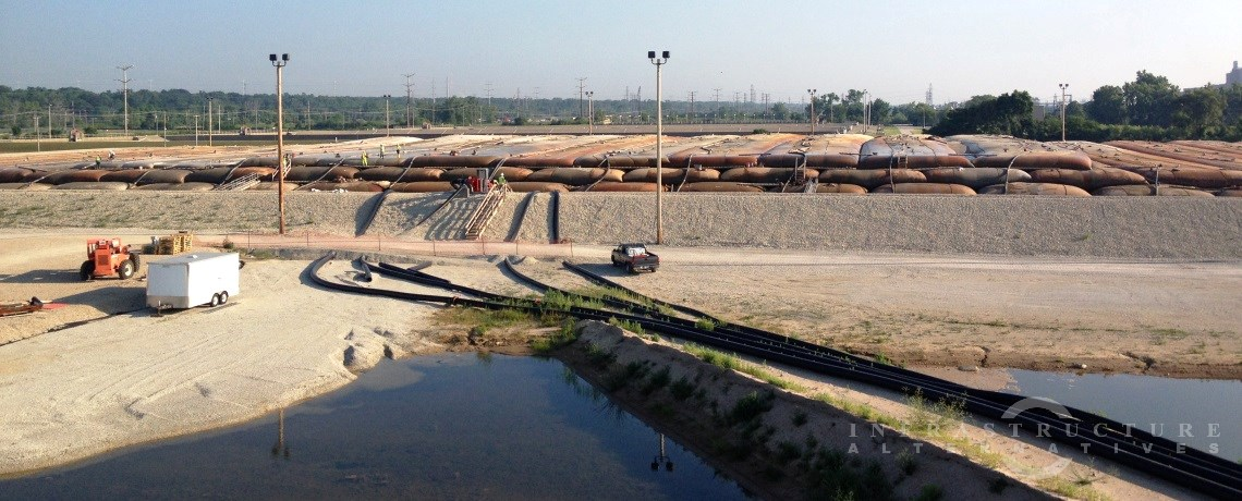 Waukegan Harbor OU1 Remedial Action, sediment consolidation facility