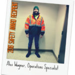 Alex Wagner Selected for 2016 Employee Safety Award