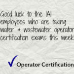 Operator Certification Exam Week in Michigan