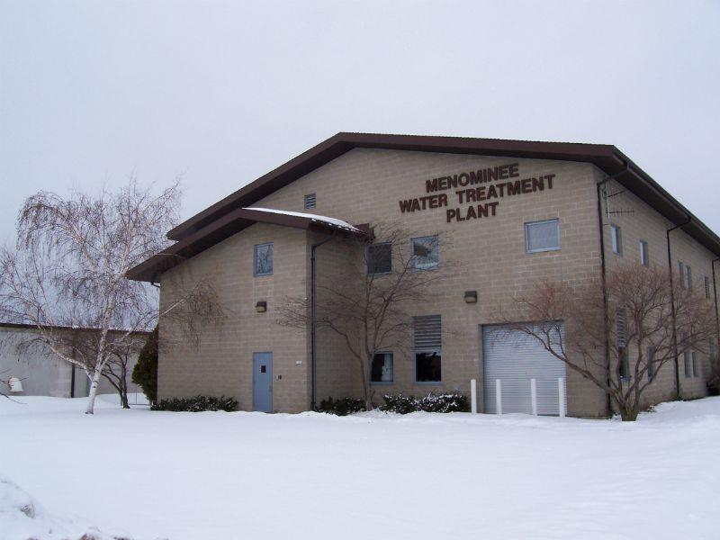 Menominee Water Treatment Plant, Menominee, Michigan