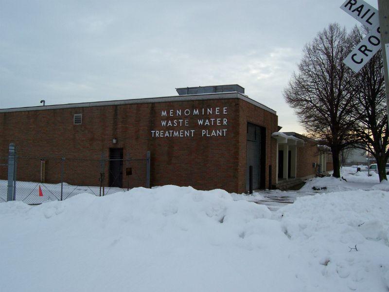 Menominee Wastewater Treatment Plant, Menominee, Michigan