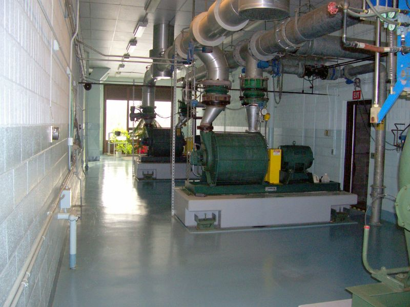 Wastewater plant blower gallery