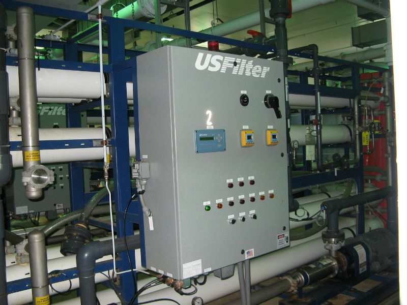 Reverse osmosis system controls