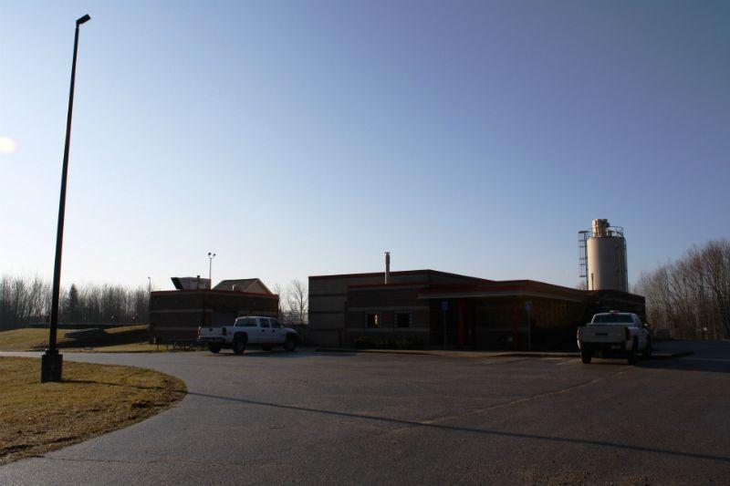 Cedar Springs Wastewater Treatment Plant, Cedar Springs, Michigan