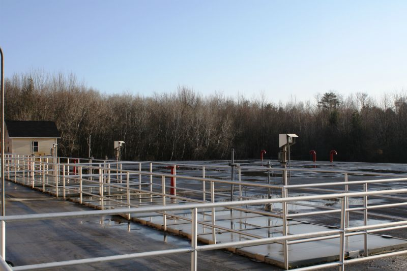 Sequencing Batch Reactor deck