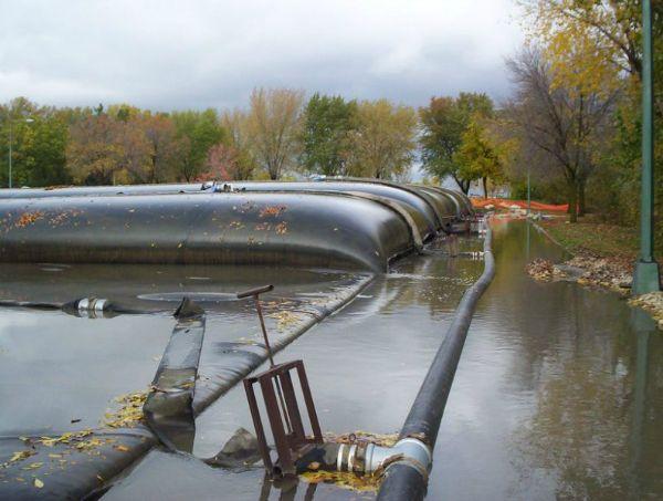 Geotextile tubes, 10-13-2006