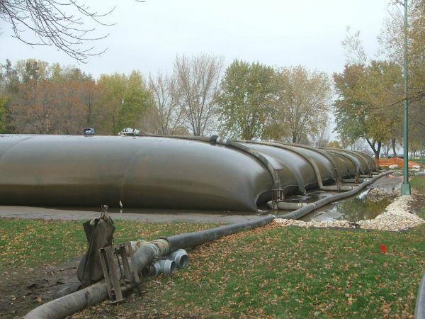 Geotextile tubes, 10-23-2006