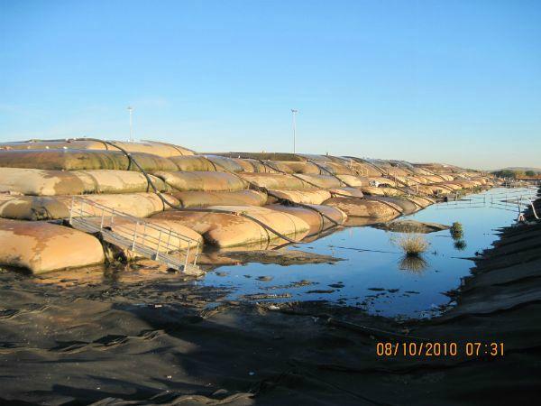 Sediment dewatering pad (Non-TSCA material)