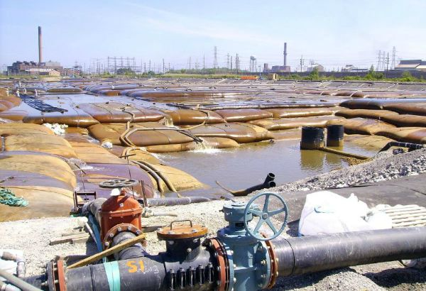 Sediment Consolidation Facility, 06-15-2007