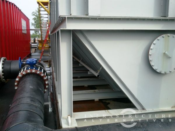 2012-06-19 Gravity thickeners installation