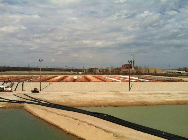 Sediment Consolidation Facility, 04-15-2013