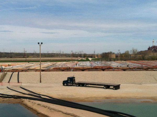 Sediment Consolidation Facility, 05-06-2013