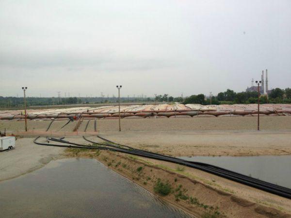 Sediment Consolidation Facility, 06-29-2013