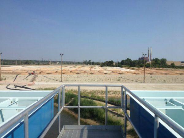 Sediment Consolidation Facility, 08-19-2013
