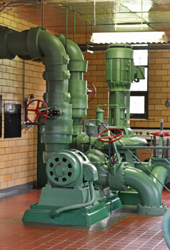 Drinking water piping, pumps and valves