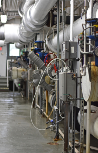 Filter piping and instrumentation