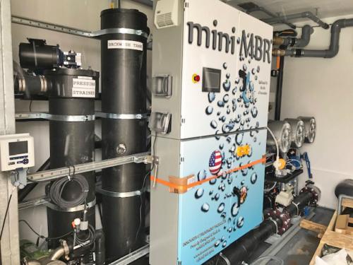 MiniMBR control room