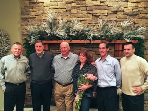 IAI's Board of Directors at Teri Kuhlman's retirement celebration, 2014