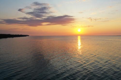 Bay of Green Bay, Lake Michigan, near Menominee