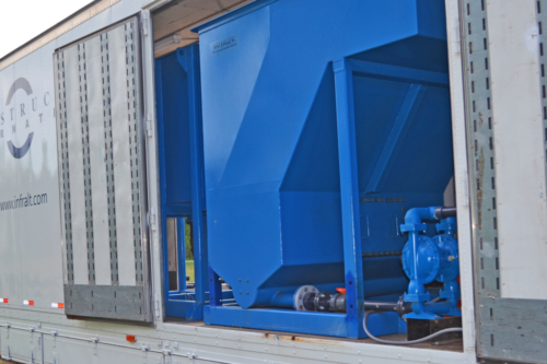 Mobile Water Treatment System Clarifier