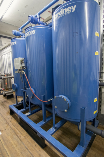 Mobile Water Treatment System Sand Filters