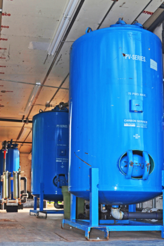 Mobile Water Treatment System Filter Trailer (sand filters, bag filters and GAC vessels)