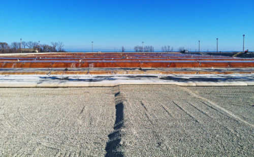 View of the Sediment Consolidation Facility from the west berm, 11-13-2012