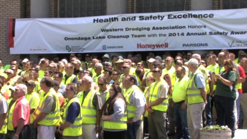 Project Team, 2014 WEDA Safety Award luncheon
