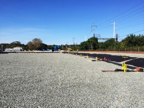Geotextile tube header construction
