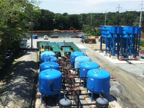 Mill River Remediation water treatment plant