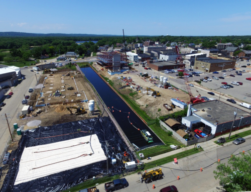 Portage Canal Segment 1 dredging and dewatering operations