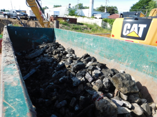 Debris removed from the canal