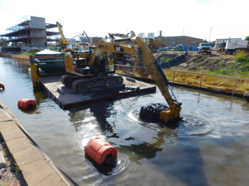 Debris removal operation