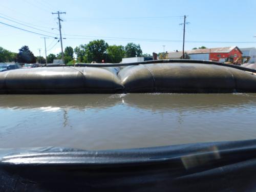 Geotextile tubes dewatering