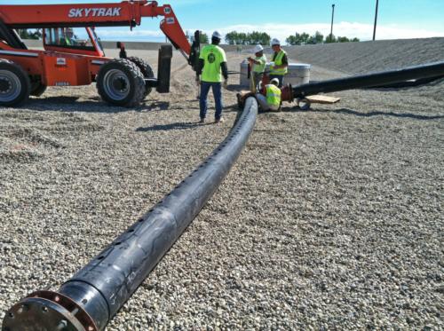 Effluent diffuser construction, 09-10-2012