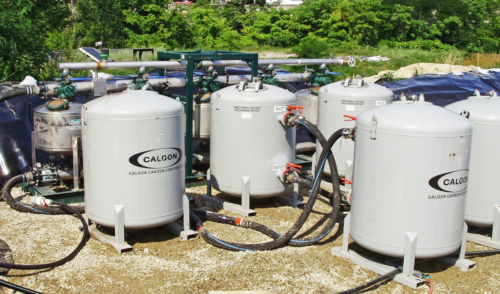 Multi-media filters for water treatment