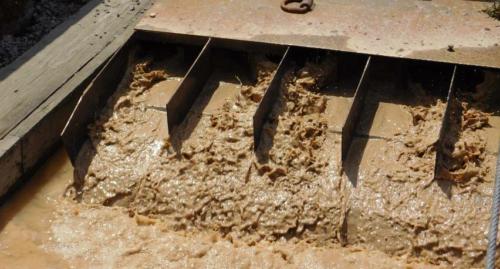 IAI's custom built sand slurry dispersion system